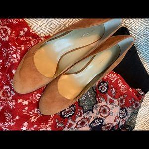 Ann Taylor wedge shoe.